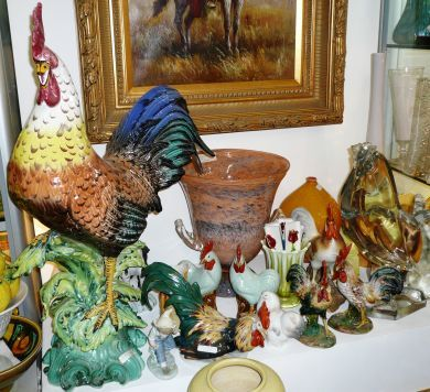 Antique & Vintage Roosters