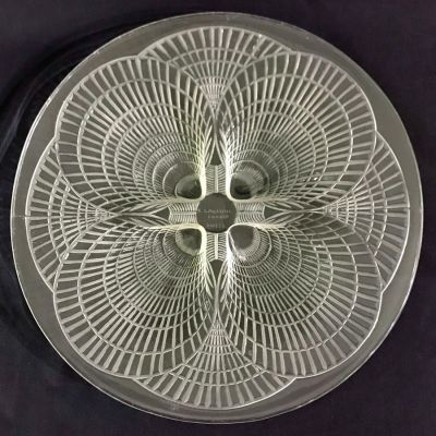 Rene Lalique Clear Glass  Coquilles  Plate 3