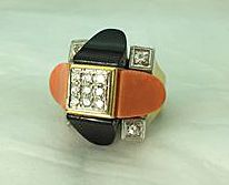 Retro-Style-Diamond-Coral-Onyx-Ring-CFA180772-85119aa