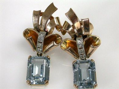 Retro Paste Earrings Cynthia Findlay Antiques CFA1210395