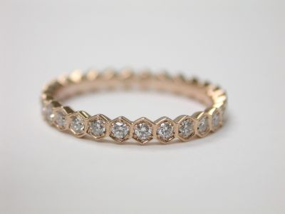 Rose Gold Eternity Band CFA1403178