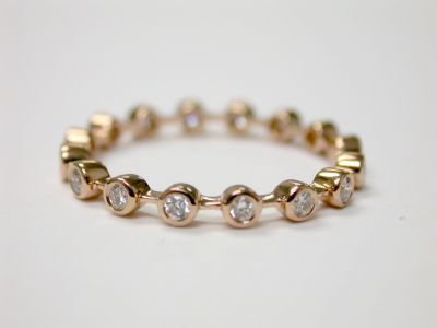 Rose Gold Eternity Band CFA1403182  2