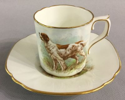 Royal Crown Derby Coffee Can   Saucer 4