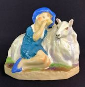 Royal Worcester Figurine Little Boy Blue