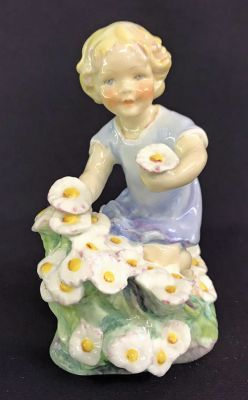 Royal Worcester Figurine May df