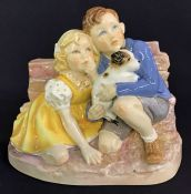 Royal Worcester Figurine Take Cover