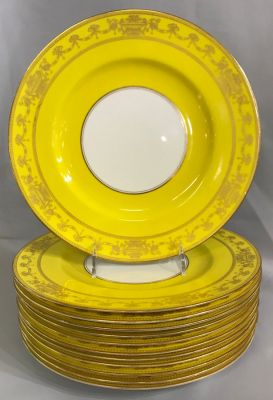 Royal Worcester Service Plates  Date Marked For 1925-27 c