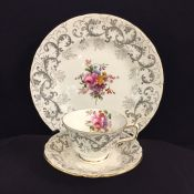 Royal Crown Derby Grey Scroll