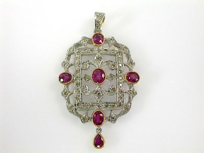 Ruby Pendant CFA131122