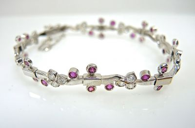 Ruby and Diamond Bracelet CFA1401173