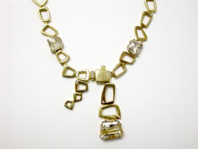 Rutilated Quartz Necklace CFA1404514