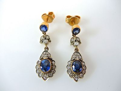 Sapphire Earrings CFA1404129