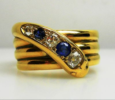 Sapphire and Diamond Band agl43291