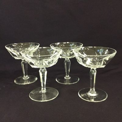 Set of 12 Vintage Waterford Sheila Champagne Coupes