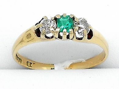 Shant Jewellery June/Emerald Ring Cynthia Findlay Antiques 12160008