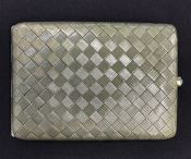 Silver Cigarette Case, Marked 935 Fine