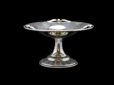 Silver Petersen Pedestal Serving Dish  Sv015