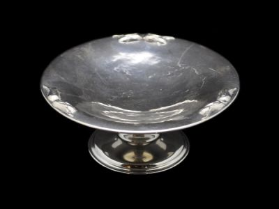 Silver Petersen Pedestal Serving Dish  Sv017