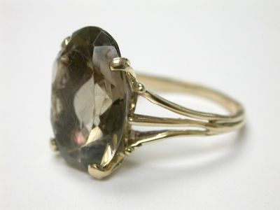 Smoky Quartz Ring CFA140108