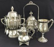 Victorian Silverplate Hollowware by Standard Silver Company of Toronto