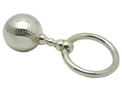 Sterling Tiffany Rattle