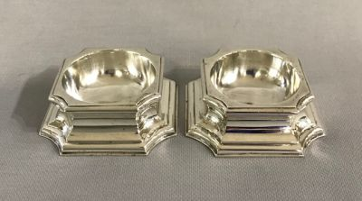 Tiffany Sterling Silver Salt Trenchers