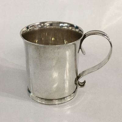Tiffany & Co. Vintage Sterling Silver Baby Cup