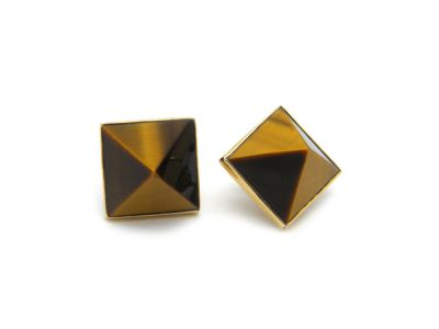 Tigers Eye Earrings  TgE001 1