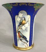 Tillowitz Porcelain Vase, Germany, circa 1910