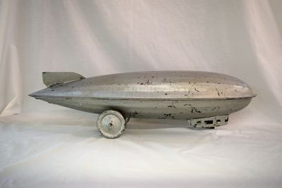 Tin-Dirigible-Pull-Toy