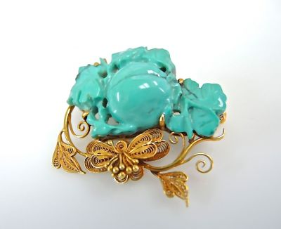Turquoise Brooch CFA1312262