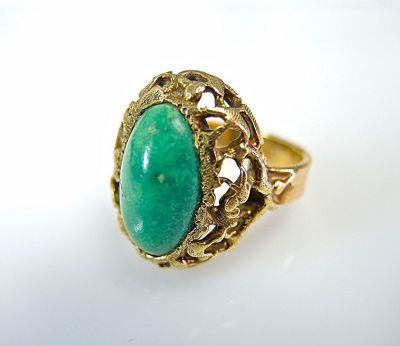 French Turquoise Ring