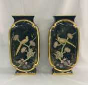Victorian Pair of Mantle Vases