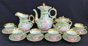 Victorian Paris Porcelain Tea Set, French, circa 1860