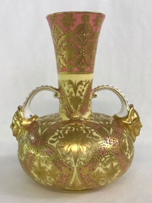 Victorian Royal Crown Derby Cabinet Urn d