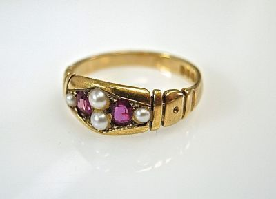 Victorian Ruby Ring CFA1407144