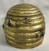 Victorian Skep Form Biscuit Barrel