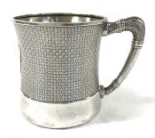 Victorian Sterling Silver Christening Cup