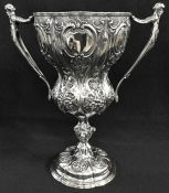 Victorian Sterling Silver Presentation Cup/Trophy