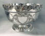 Victorian Sterling Silver Punch Bowl/Presentation Trophy