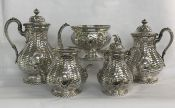 Victorian Tiffany & Co. Sterling Silver Tea & Coffee Service