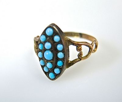 Victorian Turquoise Ring CFA140649