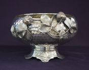 Victorian Silver Plate Berry Bowl