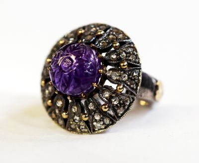Vintage-Amethyst-and-Diamond-Ring-CFA1801280-84675a