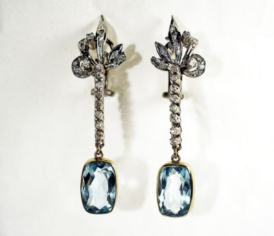 Vintage-Aquamarine-and-Diamond-Drop-Earrings-CFA140996-78684a