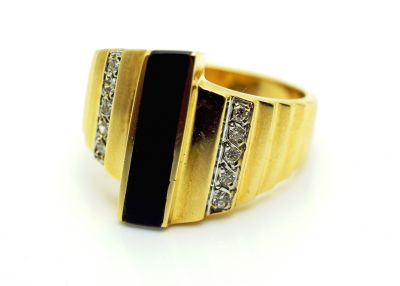 Vintage-Black-Onyx-and-Diamond-Ring-AGL73593-83832a
