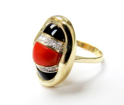 Vintage-Coral-Diamond-Black-Onyx-Ring-CFA160163-80544