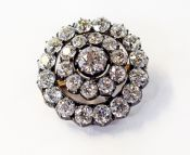 Vintage Diamond Brooch and Pendant