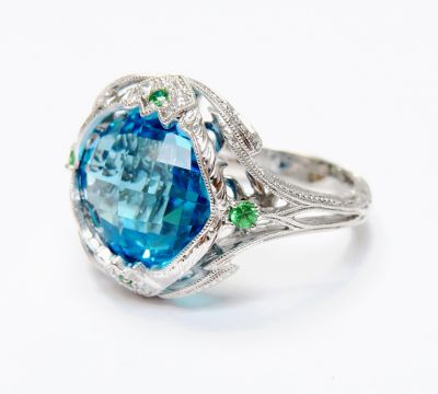 Vintage-Inspired-Blue-Topaz-Green-Garnet-Diamond-Ring-CFA160585-82086