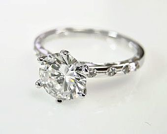 Vintage Inspired Diamond Ring